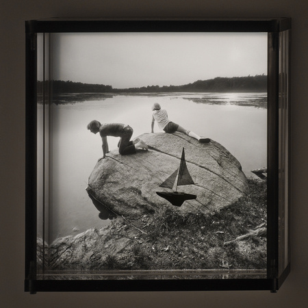 Boys with Boat,1996,1-20